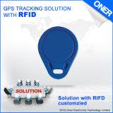 Traqueur de l'IDENTIFICATION RF GPS d'Oner avec le $$etAPP de rail