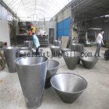 Квадратная поверхность зеркала Flowerpot металла украшения формы для сада парка