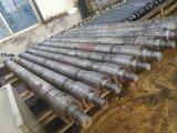 Único cilindro ativo do petróleo hidráulico da tubulação de petróleo de Rod de pistão usada no descarregador lateral