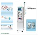 Paciente médico del incidente renal usado y máquina de la hemodialisis