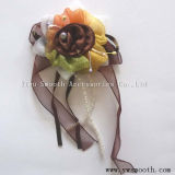 La mode en mousseline de fleurs multicolores en dentelle décorative accessoires du vêtement
