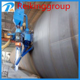 Steel Pipe Surfaces Derusting Cleaning Machine