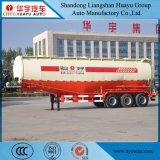 semi Aanhangwagen van de Tanker van het Vervoer van het Cement van 35cbm de Bulk met de Compressor van de Lucht van de Dieselmotor van HF
