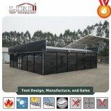 Tent van het Aluminium van de kubus de Zwarte Commerciële voor Verkoop