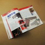 Service d'impression parfait de livret explicatif de catalogue de livre de livre À couverture dure de livre attaché