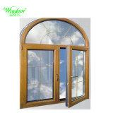 아치 상단을%s 가진 방수 방음 열 절연제 알루미늄 여닫이 창 Windows