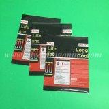 Étiquette de chemise de rétrécissement de PVC pour des bidons de café