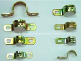 別の金属の物質的なシート・メタルのハードウェアの曲がる部品