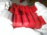 De rode Staven van het Polyurethaan, de Staven van Pu, Plastic Staven, de Staaf van het Polyurethaan, de Staaf van Pu, Plastic Staaf