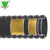 Fait en usine de 5 pouces de flexible en caoutchouc souple Flexible de vidange en caoutchouc en carton ondulé