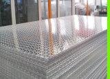 chequered Plattenaluminium des Diamanten
