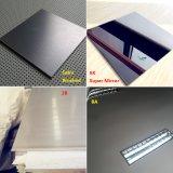 304黒いチタニウム極度のミラーの装飾的なステンレス鋼の版