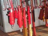 실린더 소형 유압 기름 동점 로드 실린더 피스톤 망원경 농장 트랙터