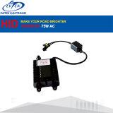 Xenon-Konvertierungs-Installationssatz Großverkauf-Leistungs-Auto-Scheinwerfer Wechselstrom-12V 75W H1 H3 H7 6000k VERSTECKTER