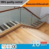Aço inoxidável Holyhome Corrimão da escada com Corrimão de madeira