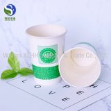 Taza de papel del café de la bebida de la taza de papel de las tazas de papel 9oz de la promoción