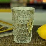 Hoher gekopiertes Glas-Kerze-Behälter