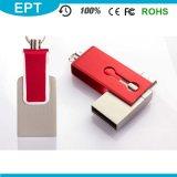 Metallschwenker-kundenspezifisches Firmenzeichen OTG USB-Blitz-Laufwerk 8GB (TJ128)