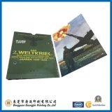 Подгонянная цветастая напечатанная карточка цвета (GJ-Card909)