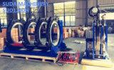 máquina hidráulica de la fusión del tope de 630m m a de 1200m m para el tubo plástico