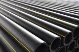 Tubo de alta densidad del PE para la fábrica del suministro de gas