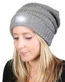 여자의 뒤집을 수 있는 LED 저속한 가벼운 베레모 모자