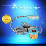 Machine à coudre Industrial Light LED Voyant DEL de tissu léger avec fonction de gradation