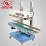 Saída de fábrica Semi-automático do tampo da mesa e o tipo de piso continuar máquina de vedação para a banda e saco de embalagem com o recartilhamento e Saliências