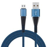 Conduites en nylon tressé Câble USB pour Android