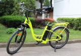2017 rueda eléctrica popular de la bici 26inch de la ciudad con el motor trasero 250W