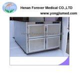 Portelli mortuari medici dei frigoriferi 1 - 6 dell'acciaio inossidabile