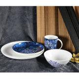 De schotels Geplaatst Huishouden Creatief Ontwerp het Ceramische Vaatwerk van China van het Been van de Plaat