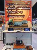 RO androide Hualingan (opcional) antideslumbrante de Carplay del soporte de las conexiones del teléfono de los jugadores estéreos del coche de Porsche Boxter