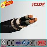 3 Núcleo de cable, Cable de energía eléctrica de media tensión de la SWA, aislamiento de XLPE Cable