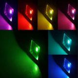 Ce Witih освещений сада света потока 10W Cp-FL01-10wrgb-100W RGB СИД Epileds AC85-265V напольный светлый, EMC, LVD, RoHS