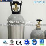 Cilindro de gás ISO7866 de alumínio sem emenda padrão