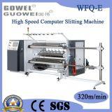 Calculateur de vitesse élevée de refendage de film de la machinerie en vente (WFQ-E)