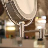 Lampada da parete rotonda del bicromato di potassio dello specchio altamente impermeabile della toilette