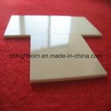 Placa de pulido de cerámica del alúmina de la resistencia de desgaste