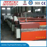 Maquinaria da estaca da placa da liga da elevada precisão Qh11d-3.2X2500/maquinaria de corte do metal