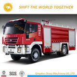 4X2 Saic-Iveco 3.6T 350HP de l'eau et de la mousse camion à incendie