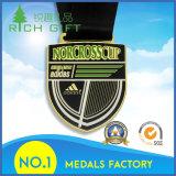 Медаль металла спорта сувенира изготовления изготовленный на заказ для оптовой продажи