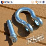 China-Fabrik-legierter Stahl-Bogen Shackles SchraubePin