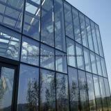 Parete divisoria della facciata di vetro