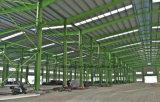 ファイバーのセメントのボードの壁パネルが付いている鉄骨構造の倉庫の研修会