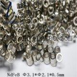 Ck-251 Grado imanes de NdFeB Φ 3.1*Φ 2.1*0,5 mm