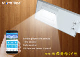 IP65 Ce/RoHSは情報処理機能をもった電話制御LED太陽街灯を証明する
