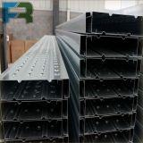 Plancia d'acciaio della piattaforma del metallo galvanizzata 250*50*2000 per l'armatura