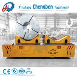 Carrello a pile orientabile elettrico di trasferimento della bobina del gruppo di lavoro resistente da 25 tonnellate