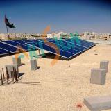 Support de l'énergie solaire pour le béton à toit plat